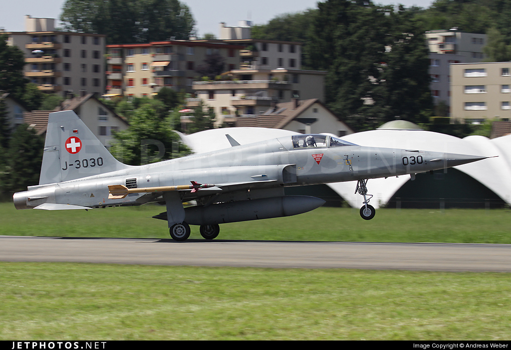 J-3030 - Northtrop F-5E Tiger - Switzerland - Air Force