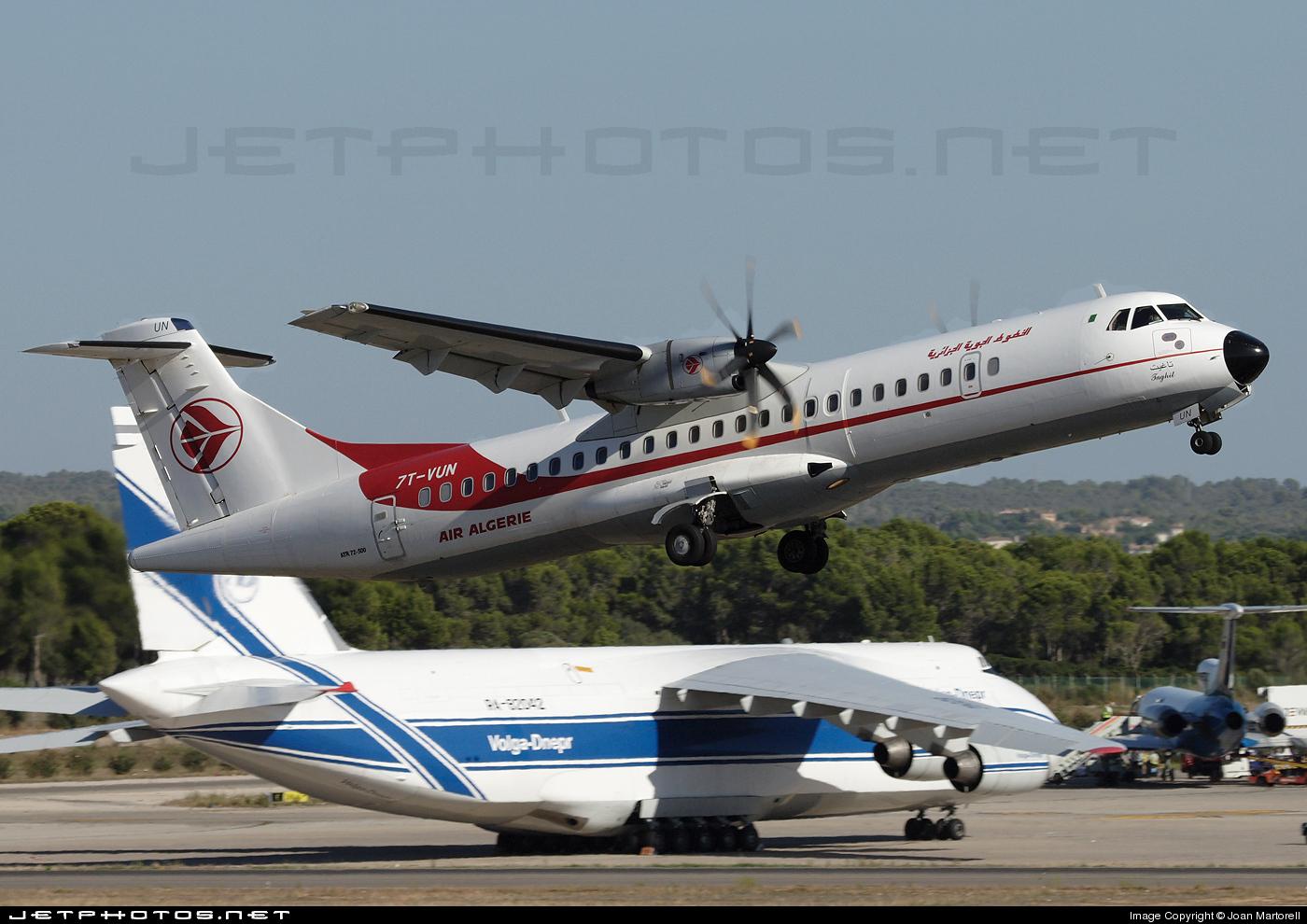 7T-VUN - ATR 72-200 - Air Algérie