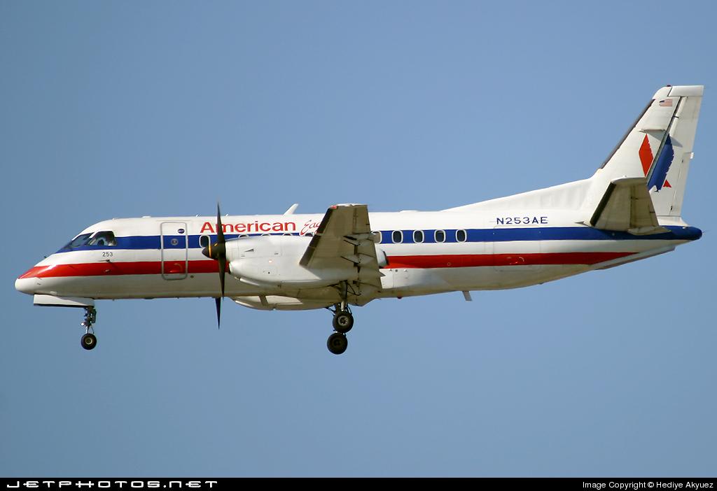 N253AE - Saab 340B - American Eagle