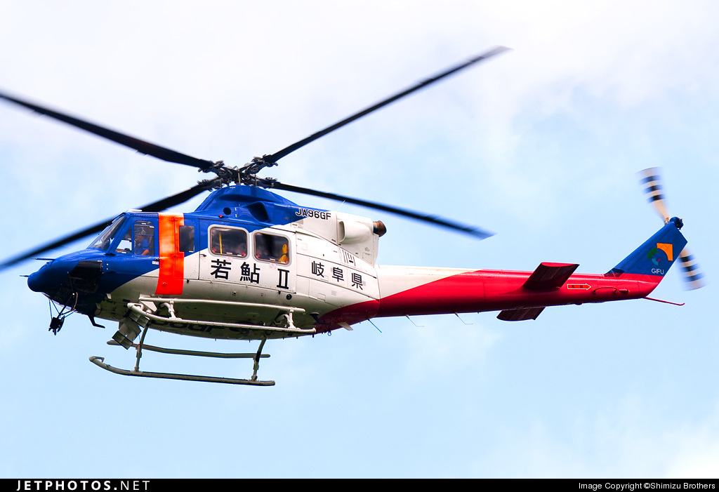 JA96GF - Bell 412EP - Japan - Gifu Prefecture