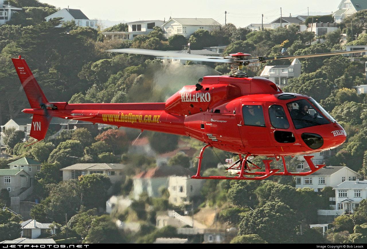 ZK-HYN - Aérospatiale AS 355N Ecureuil 2 - Helipro