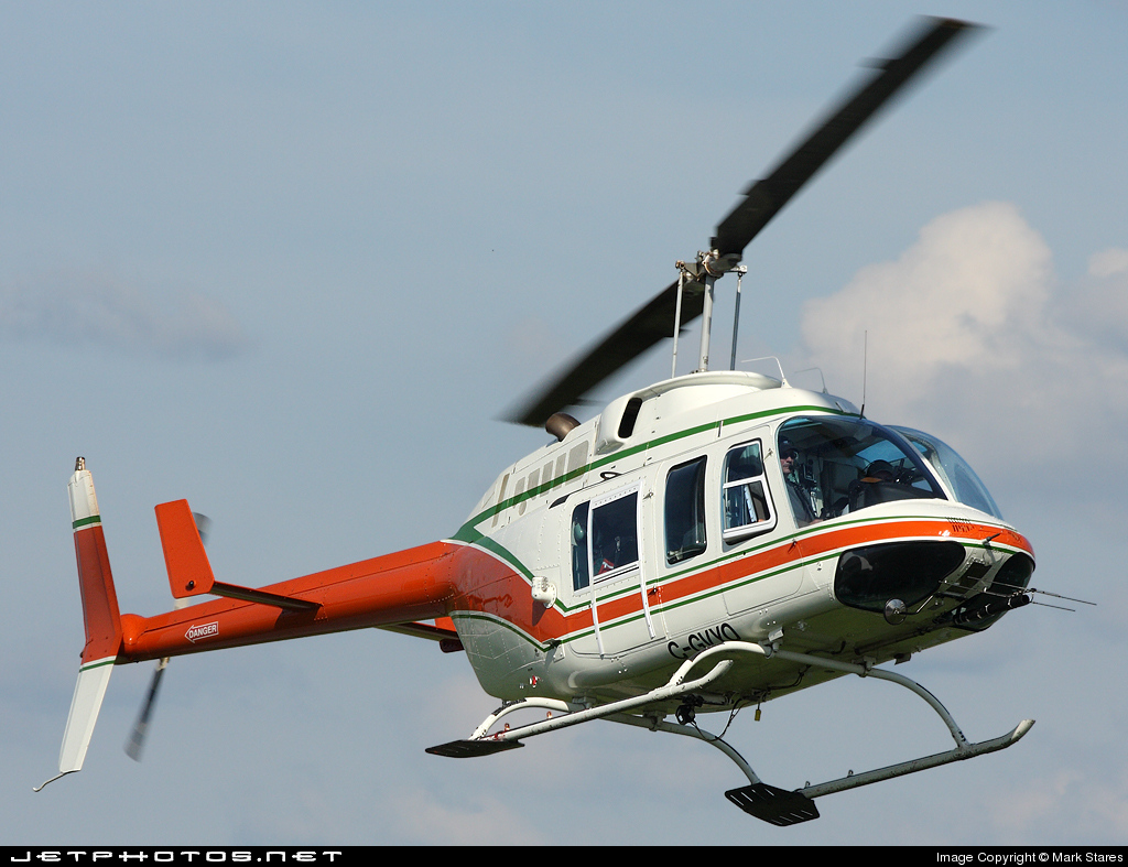 C-GVYO - Bell 206L LongRanger - Universal Helicopters Newfoundland