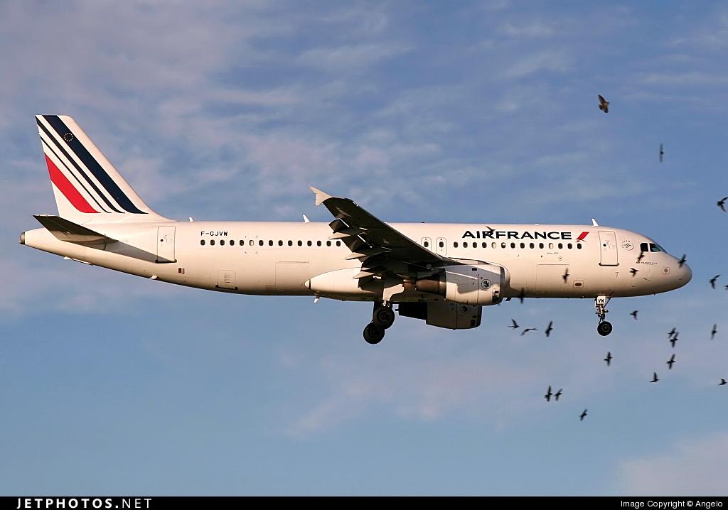 F-GJVW - Airbus A320-211 - Air France