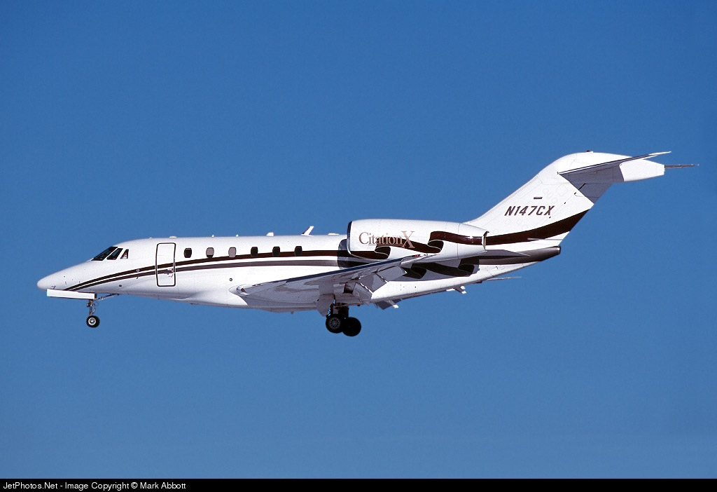 N147CX - Cessna 750 Citation X - Swift Air