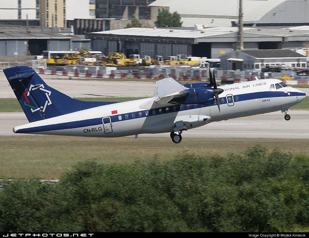 CN-RLG - ATR 42-320 - Regional Air Lines