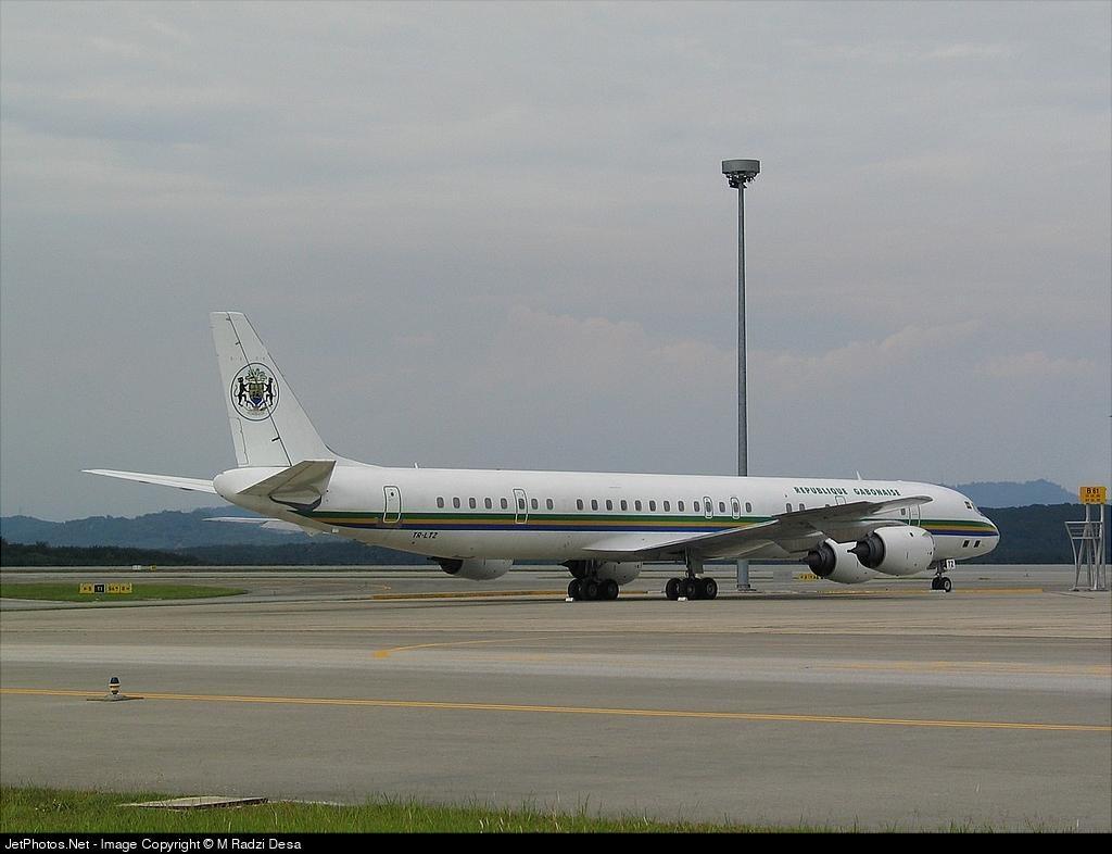 TR-LTZ - Douglas DC-8-73(F) - Gabon - Government