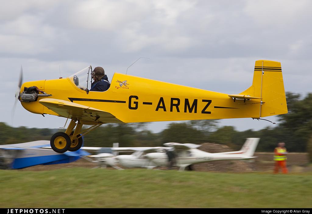 G-ARMZ - Druine DR.31 Turbulent - Private