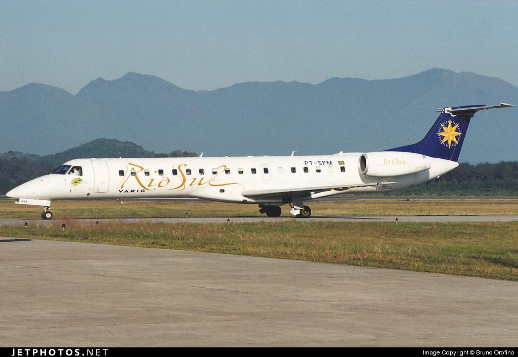 PT-SPM - Embraer ERJ-145ER - Rio-Sul
