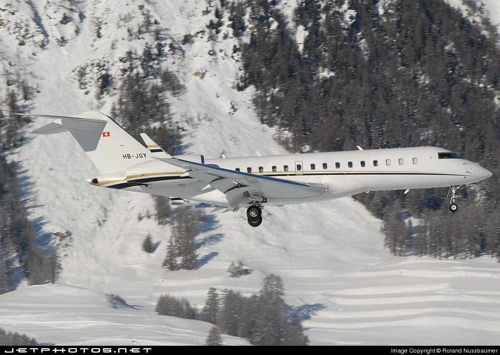 HB-JGY - Bombardier BD-700-1A10 Global Express XRS - Comlux Aviation