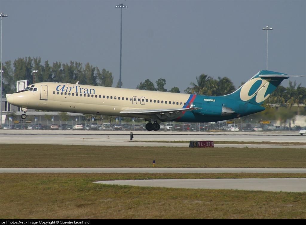 N839AT - McDonnell Douglas DC-9-32 - airTran Airways