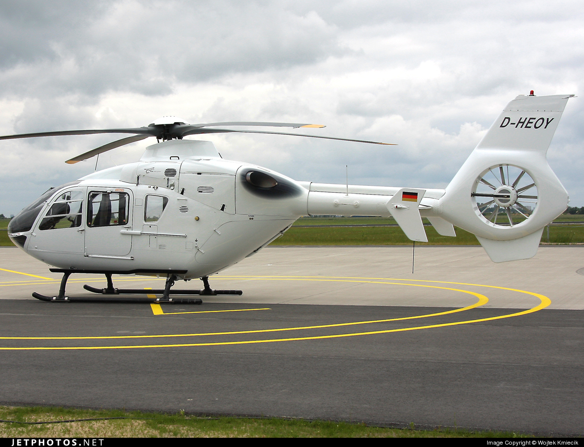 D-HEOY - Eurocopter EC 135T1 - HTM Helicopter Travel Munich