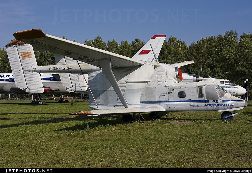 CCCP-15154 | PZL-Mielec M-15 Belphegor | Aeroflot | Dave