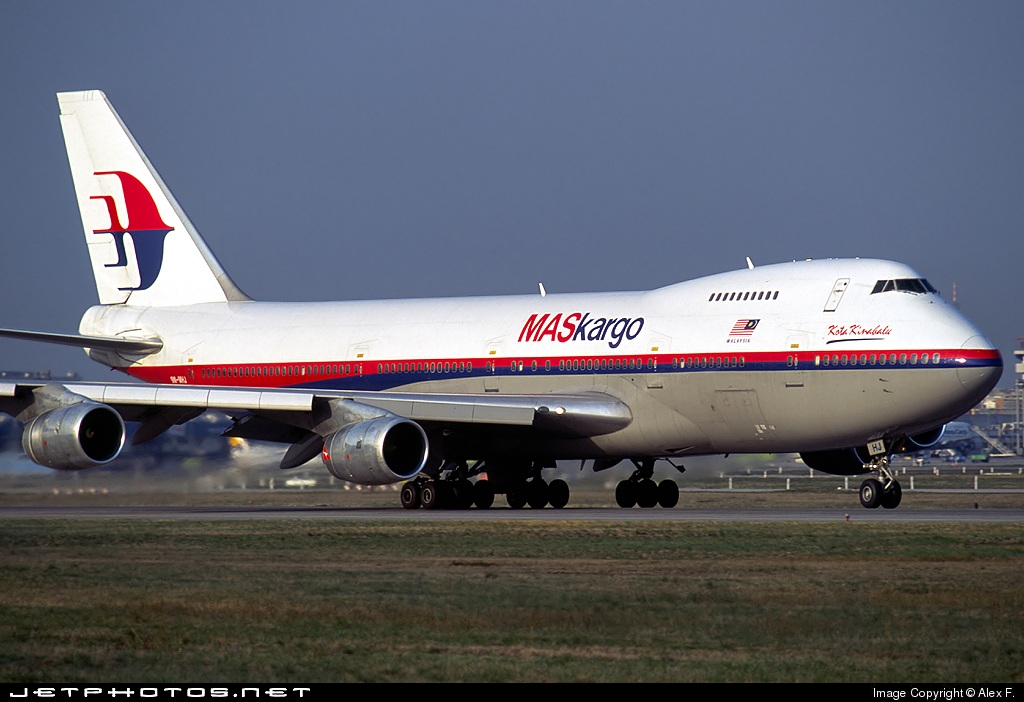 9M-MHJ - Boeing 747-236B(SF) - MASkargo