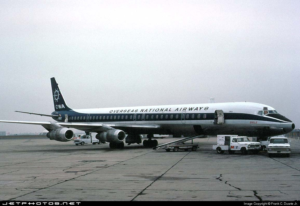 N868F - Douglas DC-8-61(CF) - Overseas National Airways (ONA)