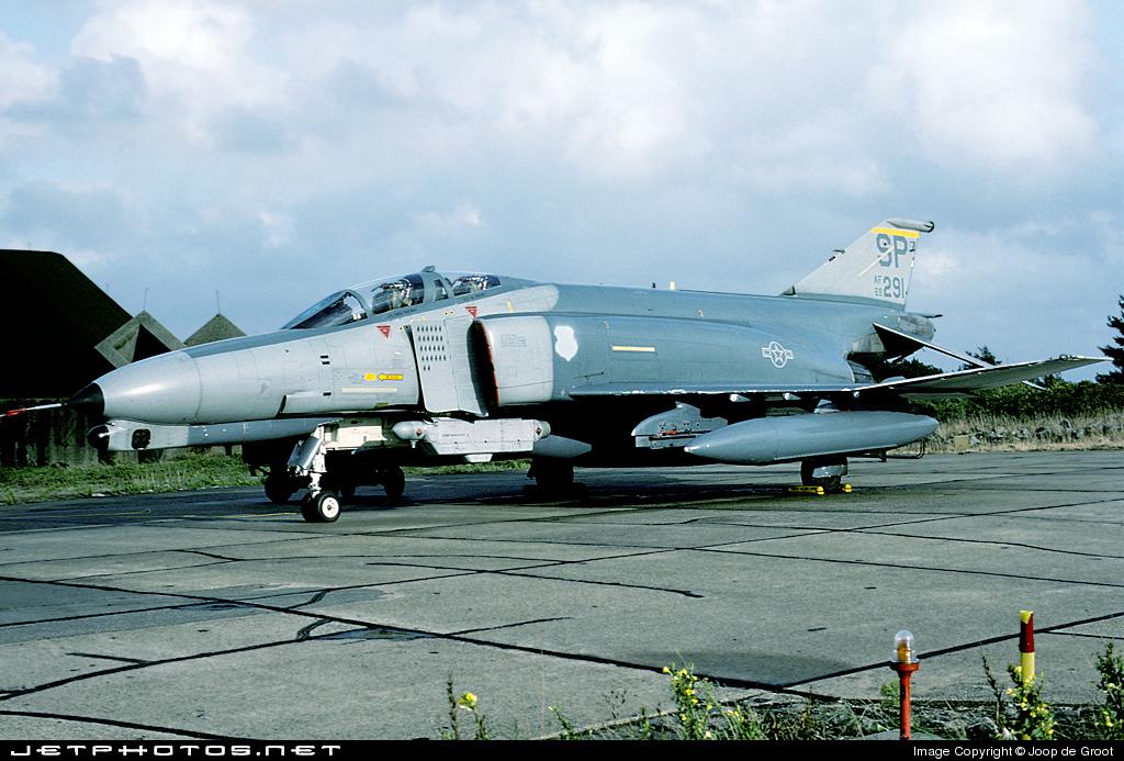 69-7291 - McDonnell Douglas F-4G Phantom II - United States - US Air Force (USAF)