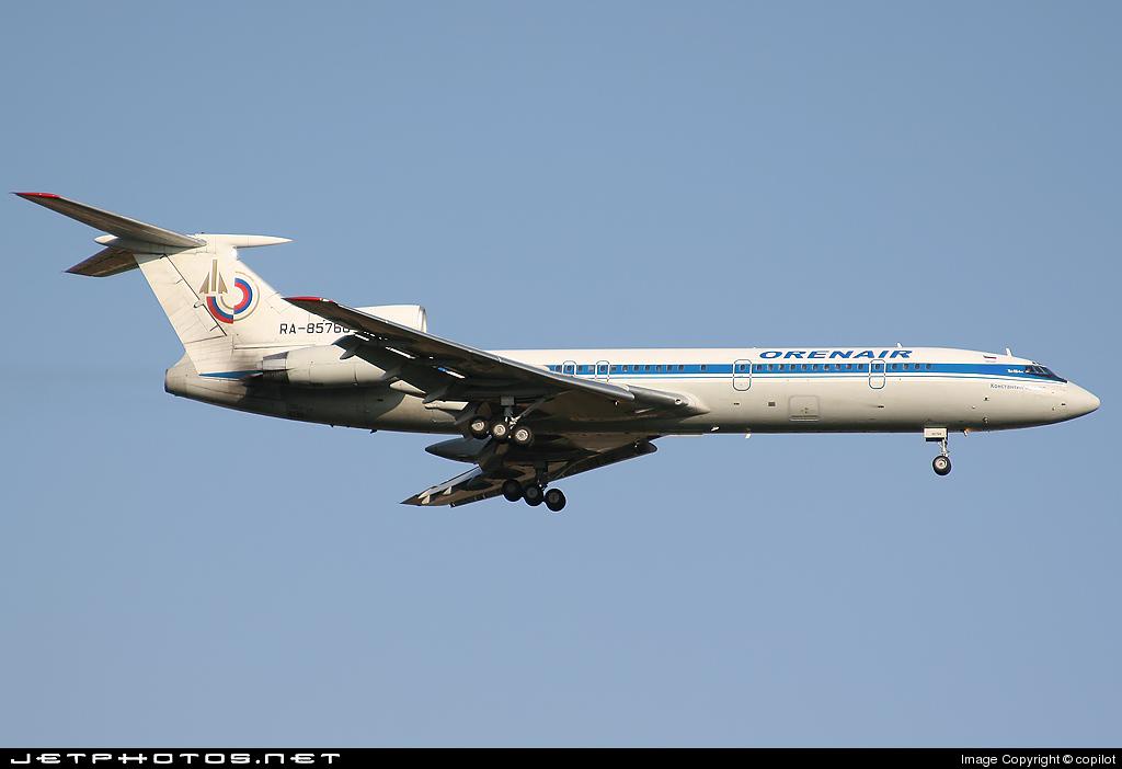 RA-85768 - Tupolev Tu-154M - Orenair