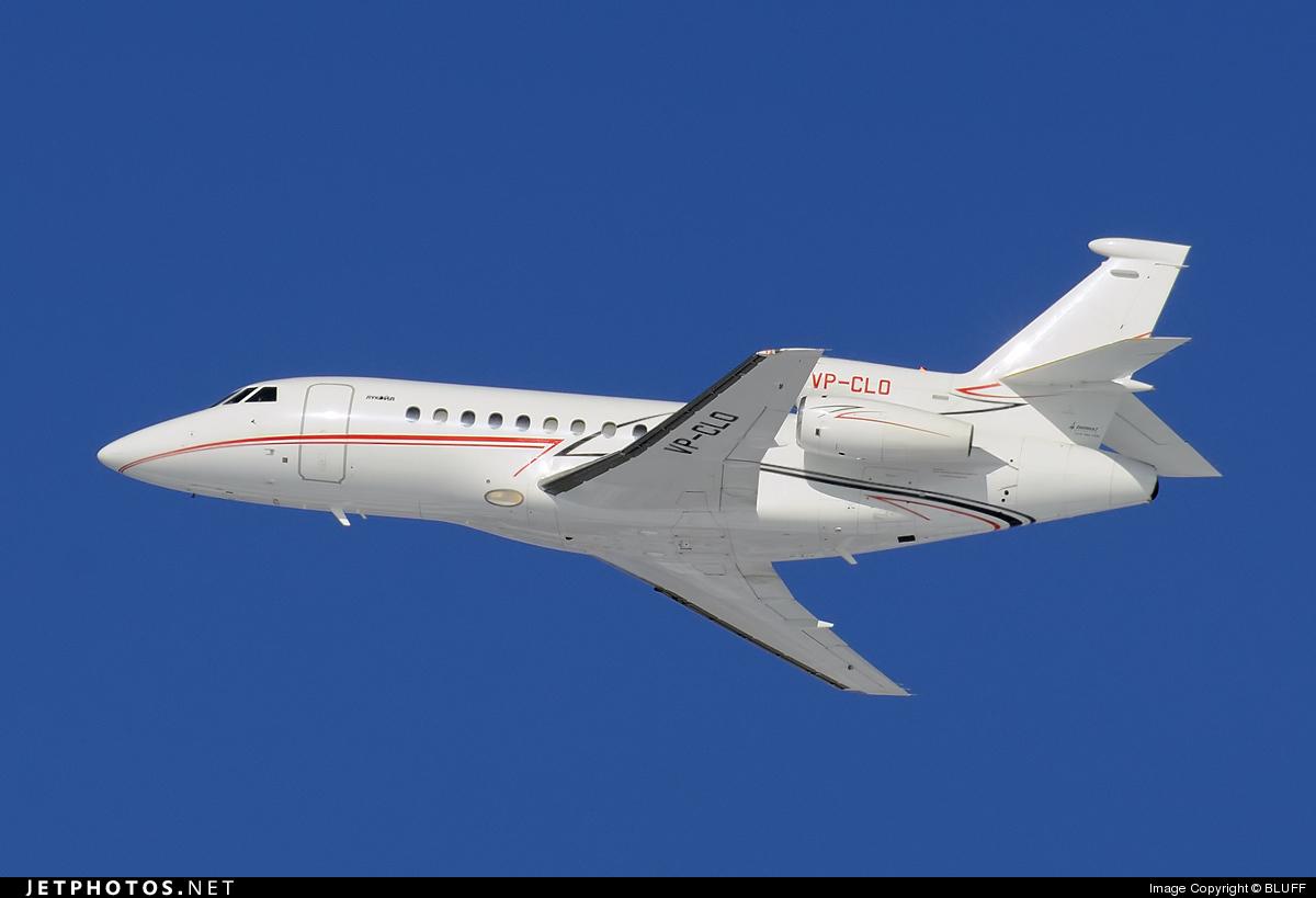 VP-CLO - Dassault Falcon 900EX - Lukoil-Avia