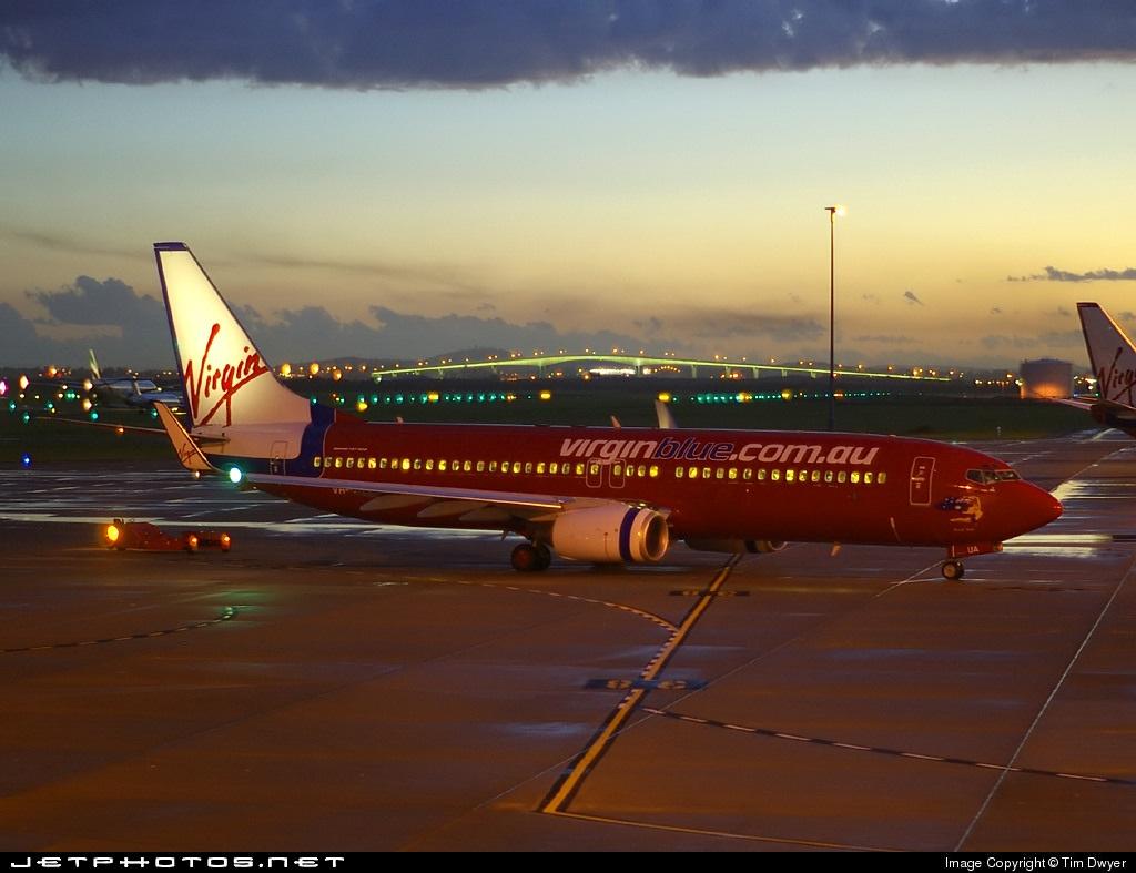 VH-VUA - Boeing 737-8FE - Virgin Blue Airlines