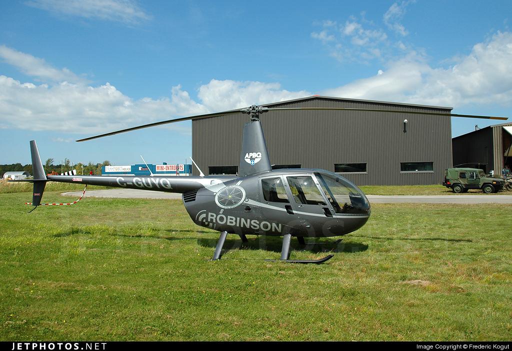 C-GUYQ - Robinson R44 Raven - Private