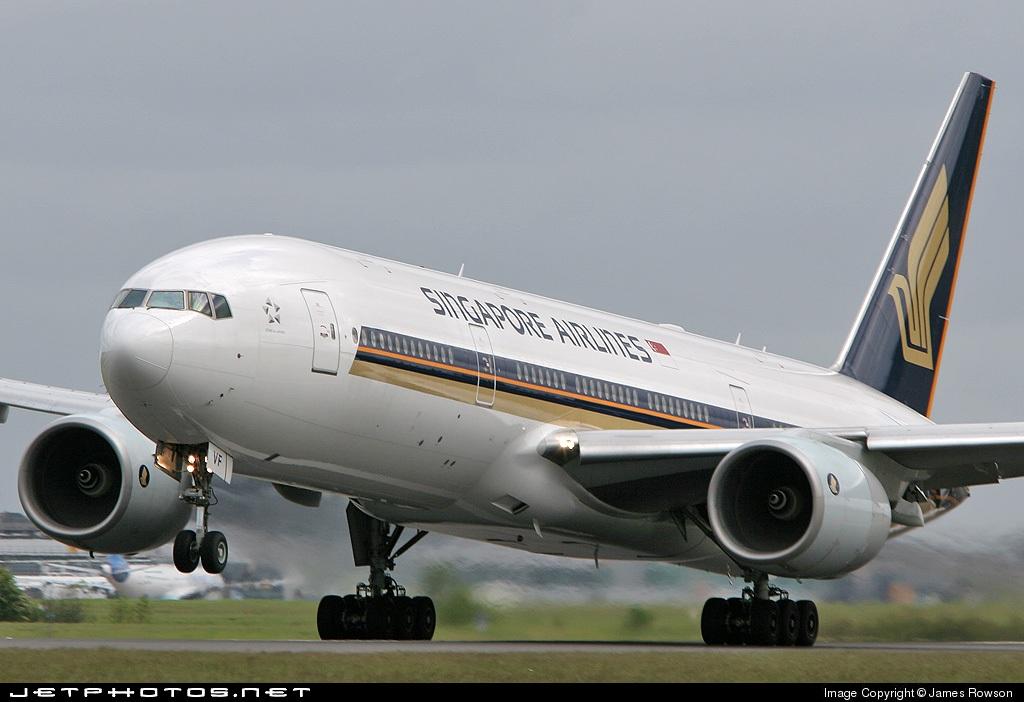 9V-SVF - Boeing 777-212(ER) - Singapore Airlines