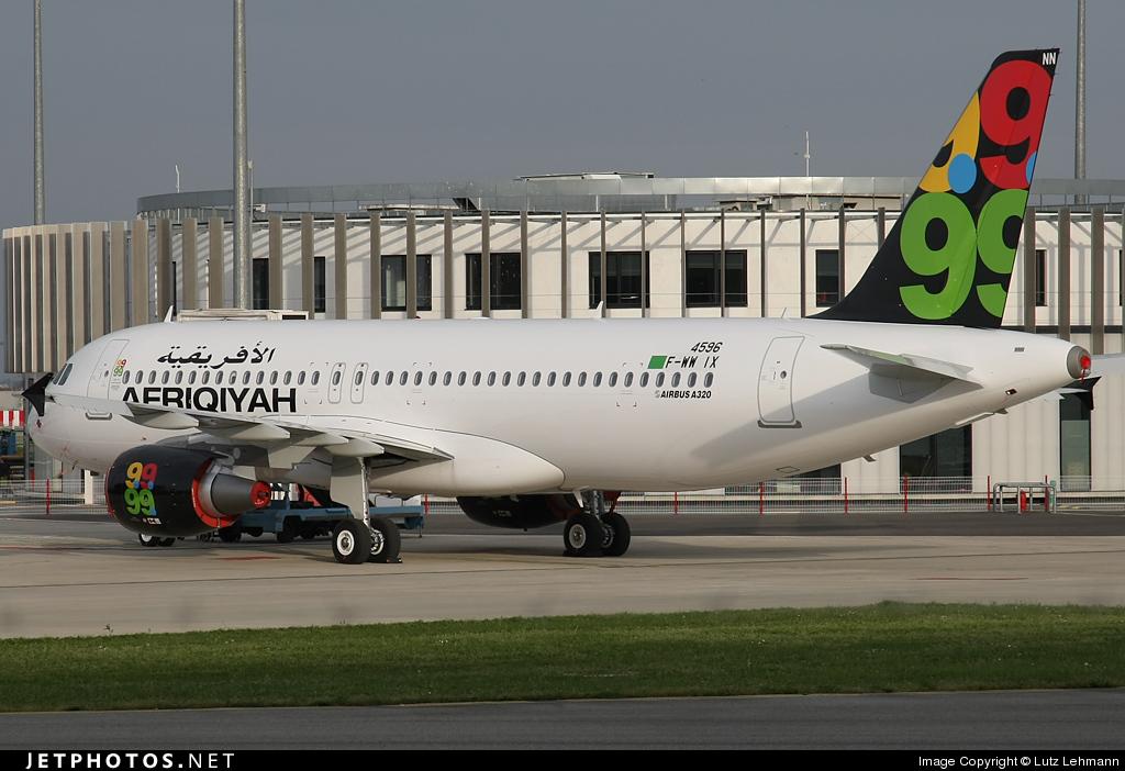 F-WWIX - Airbus A320-214 - Afriqiyah Airways