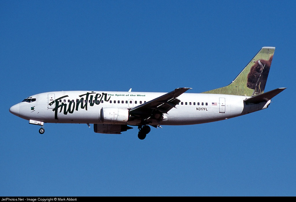 N317FL - Boeing 737-36E - Frontier Airlines