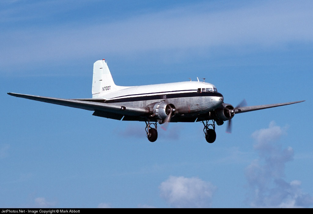 N780T - Douglas DC-3C - Tol-Air