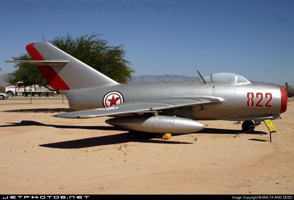 822 - Mikoyan-Gurevich MiG-15 Fagot - North Korea - Air Force