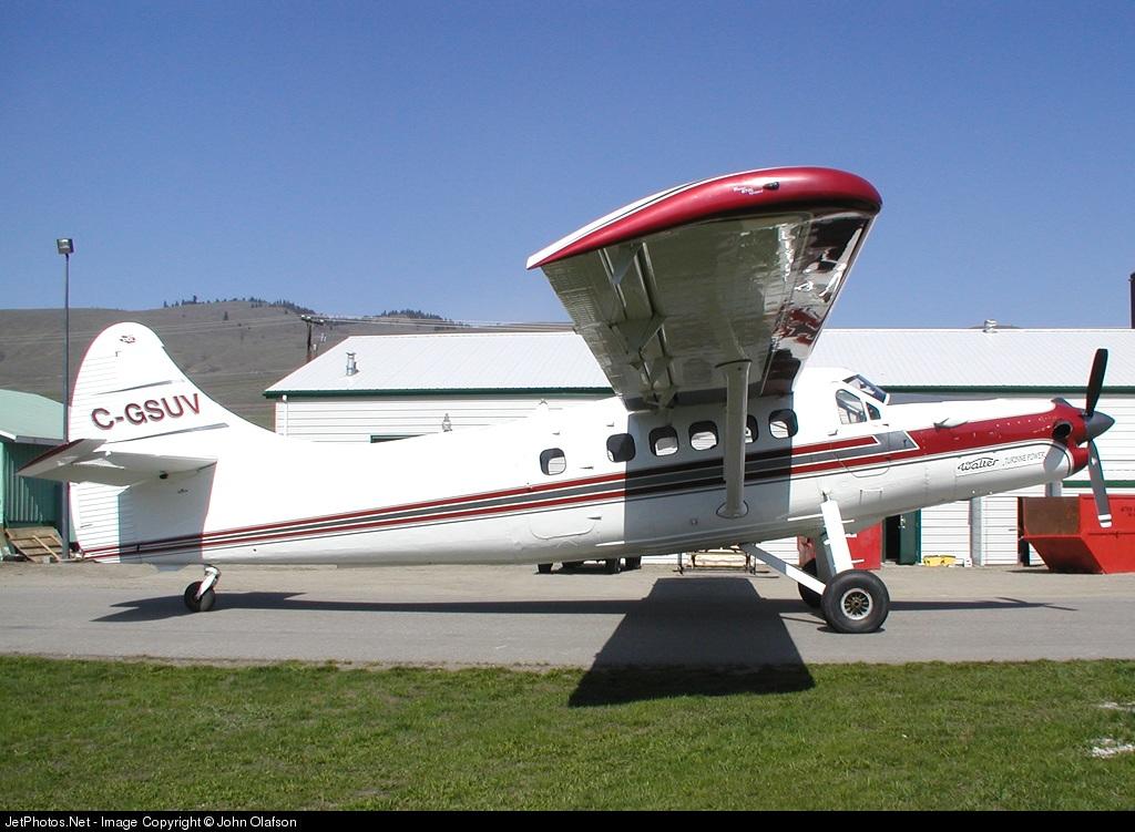 C-GSUV - De Havilland Canada DHC-3 Otter - Private
