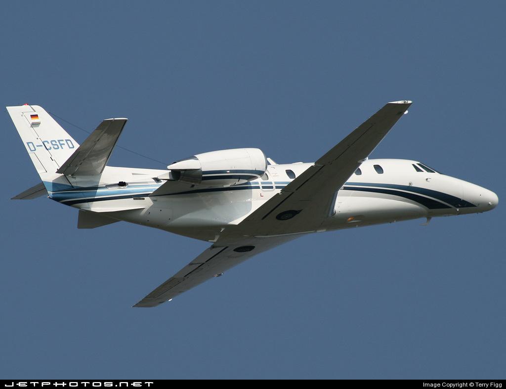D-CSFD - Cessna 560XL Citation Excel - Private