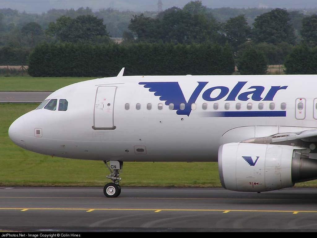 EC-ICN - Airbus A320-214 - Volar Airlines