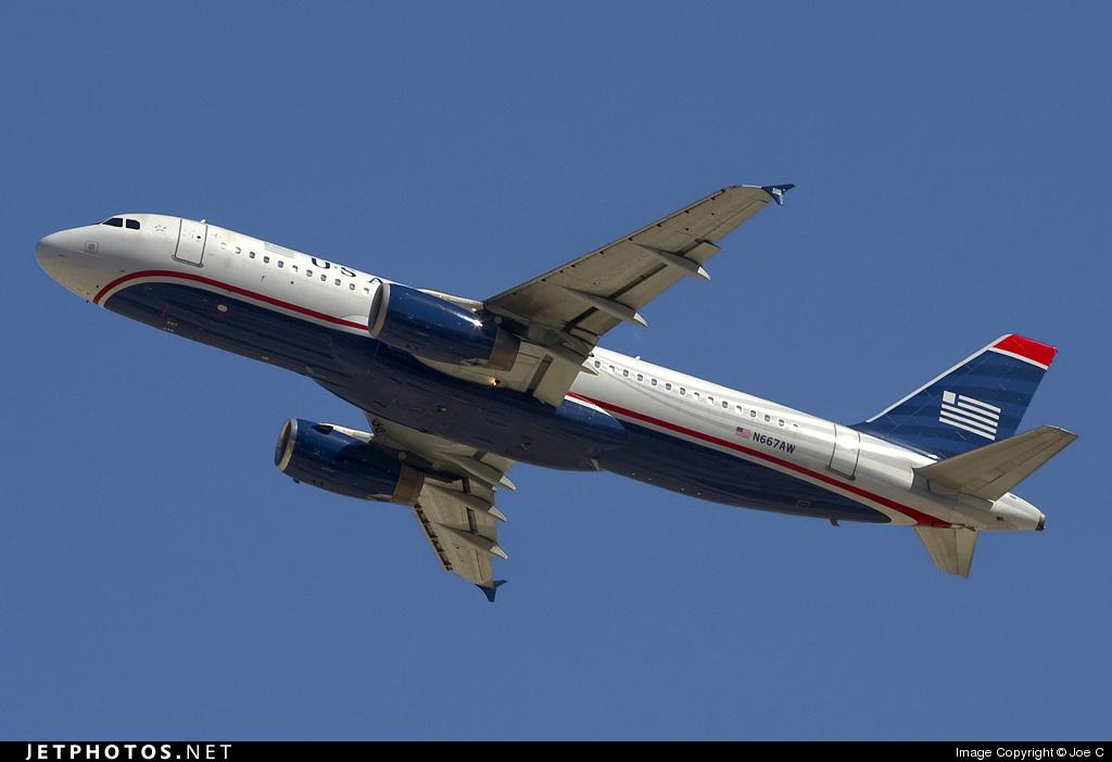 N667AW - Airbus A320-232 - US Airways