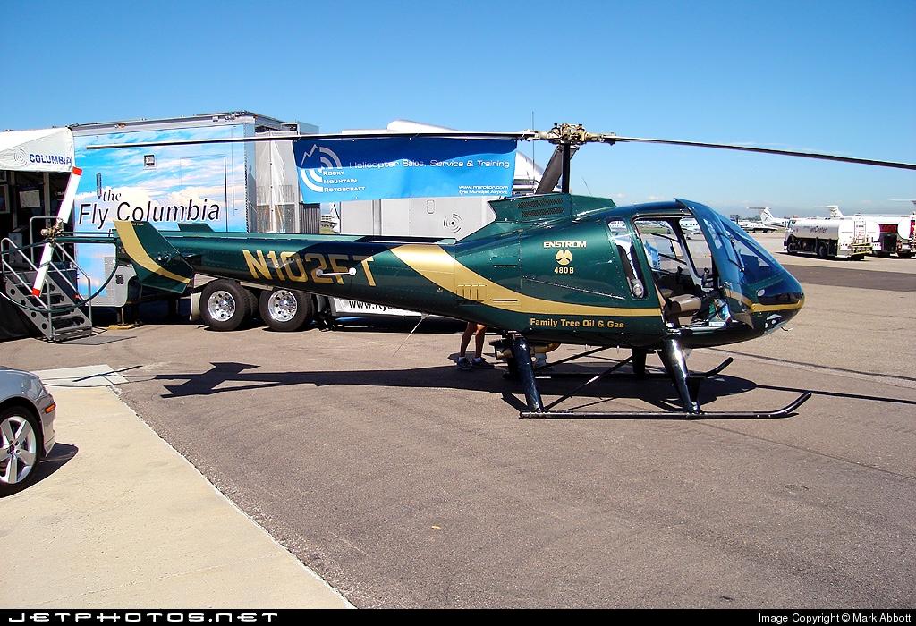 N102FT - Enstrom 480 - Private