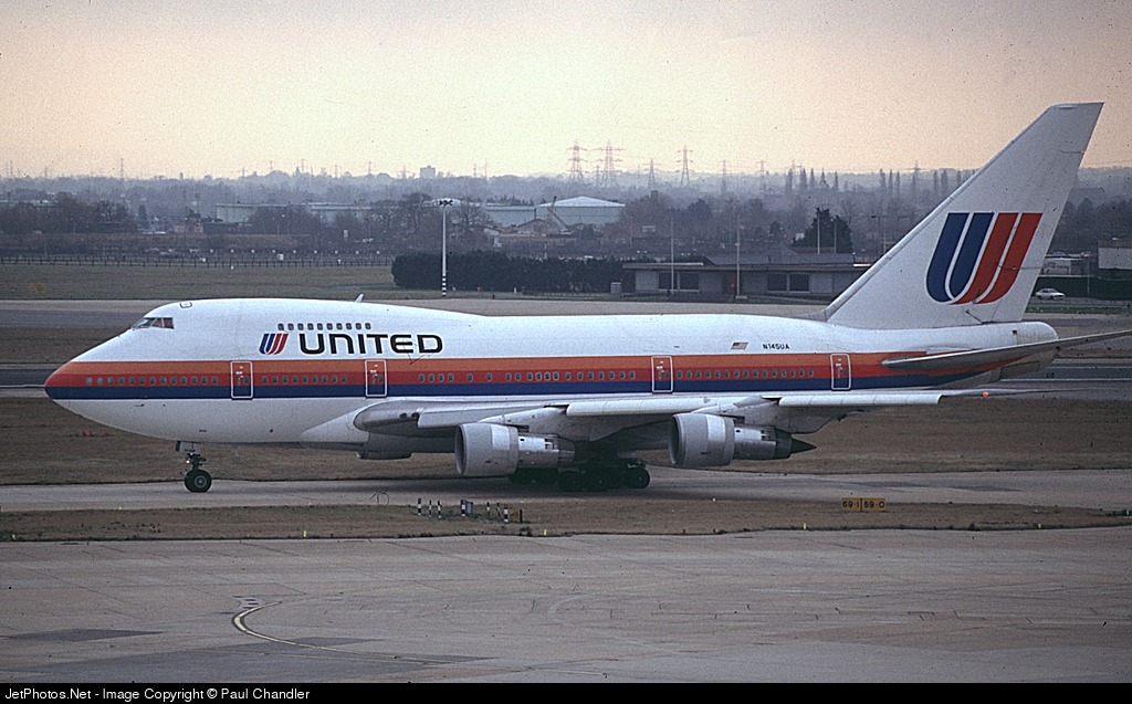 N145UA - Boeing 747SP-21 - United Airlines