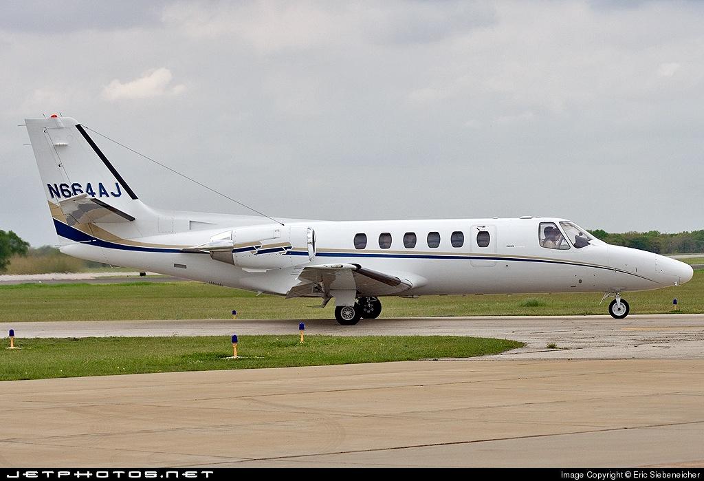 N644AJ - Cessna 550 Citation II - Private