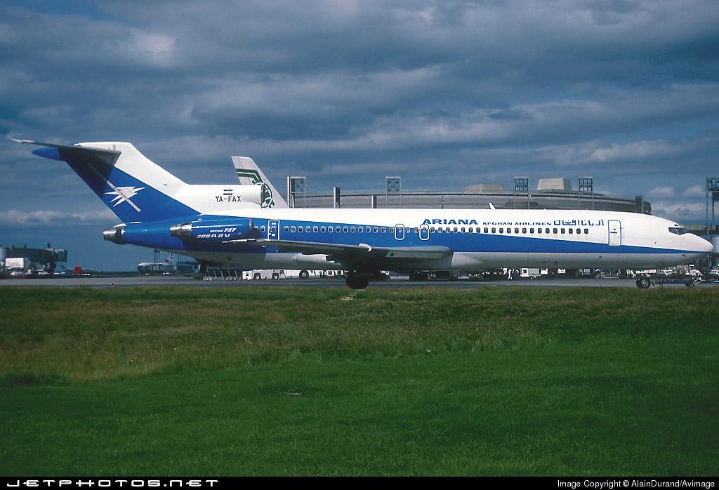 YA-FAX - Boeing 727-228(Adv) - Ariana Afghan Airlines