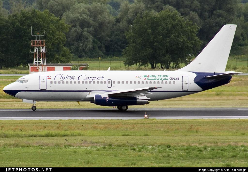 OD-LMB - Boeing 737-232(Adv) - Flying Carpet Airlines