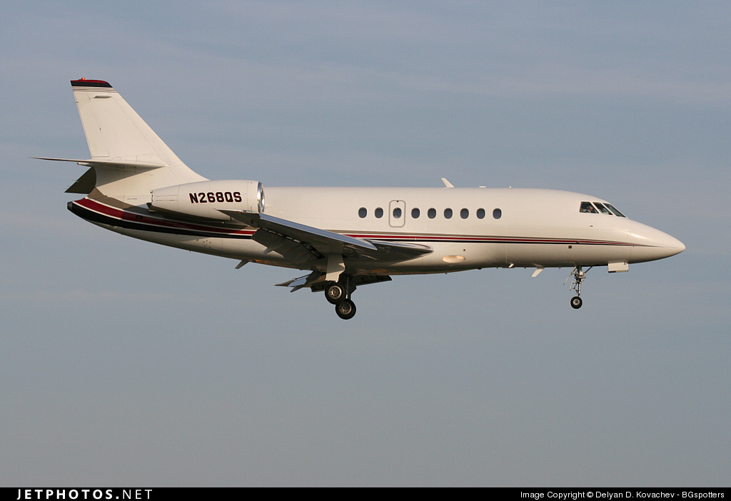 N268QS - Dassault Falcon 2000EX - NetJets Aviation