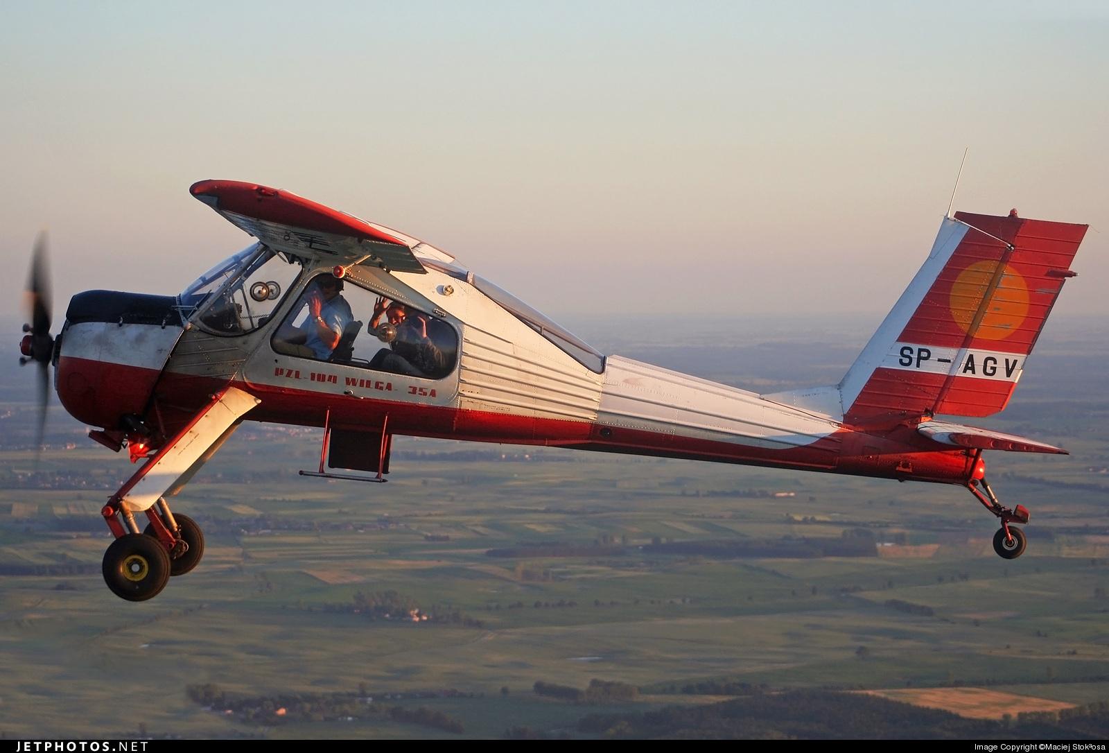 SP-AGV - PZL-Okecie 104 Wilga 35A - Aero Club - Bydgoski