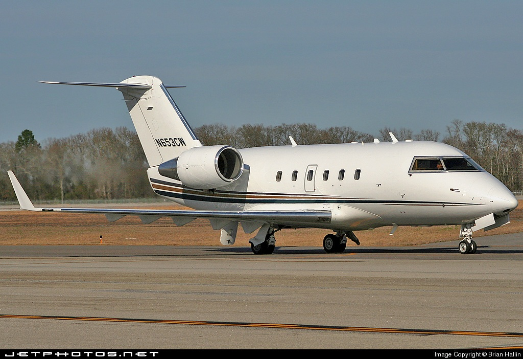 N653CW - Bombardier CL-600-2B16 Challenger 601-3A - Flight Options