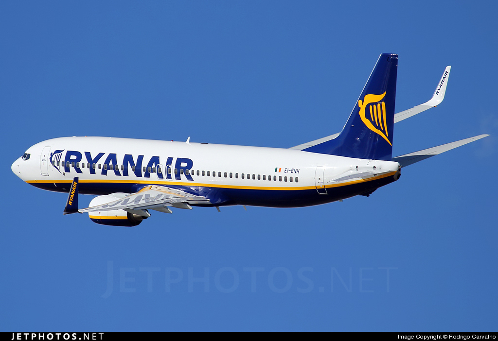 EI-ENH - Boeing 737-8AS - Ryanair