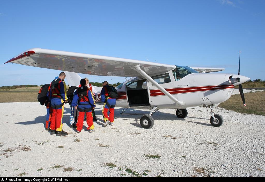 ZK-SDG - Cessna U206F Stationair 6 - New Zealand Skydiving School