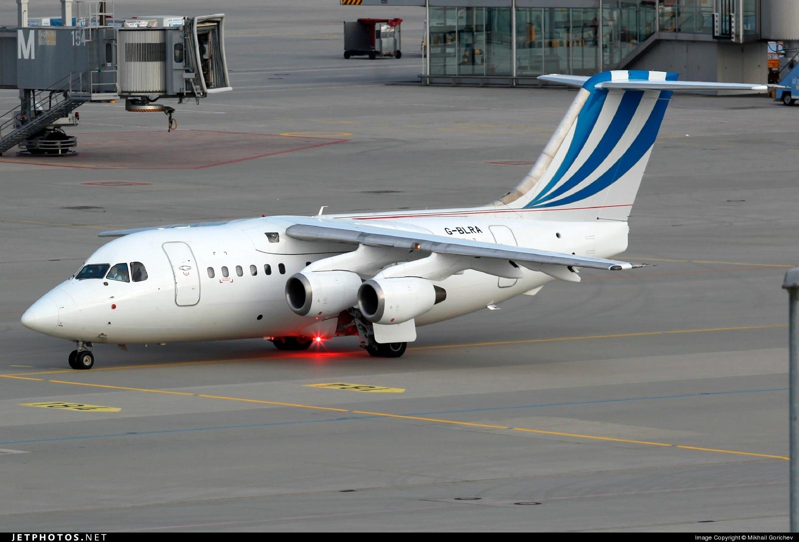 G-BLRA - British Aerospace BAe 146-100 - BAe Systems