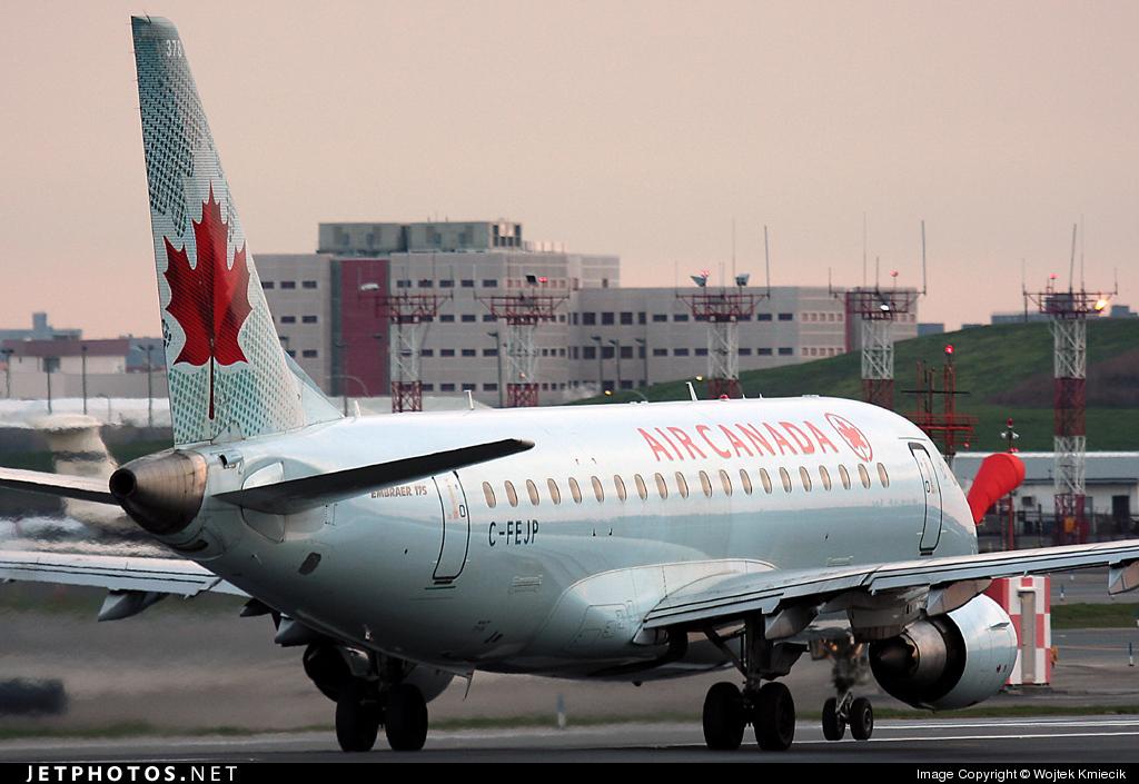 C-FEJP - Embraer 170-200SU - Air Canada