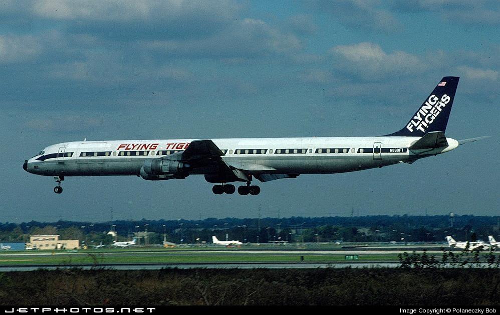 N860FT - Douglas DC-8-61(CF) - Flying Tigers