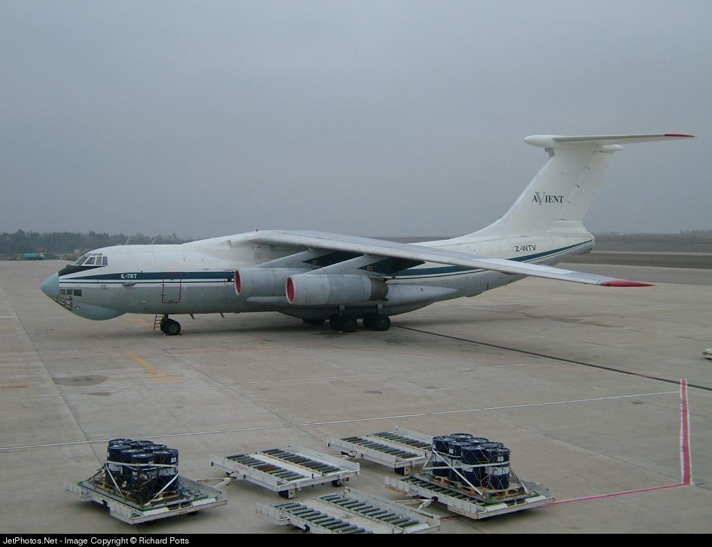 Z-WTV - Ilyushin IL-76T - Avient Aviation