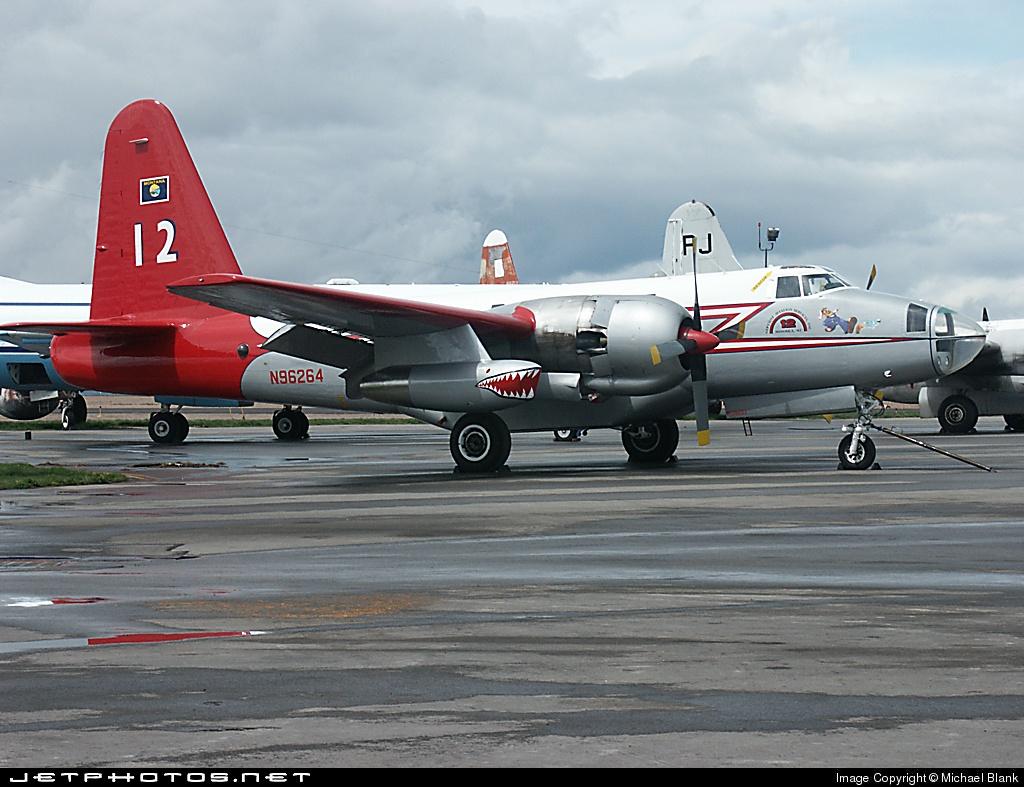 N96264 - Lockheed P-2V-5F Neptune - Private