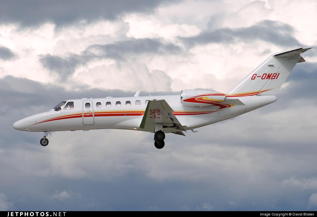 G-OMBI   Cessna 525B CitationJet 3   Private   David Blaker