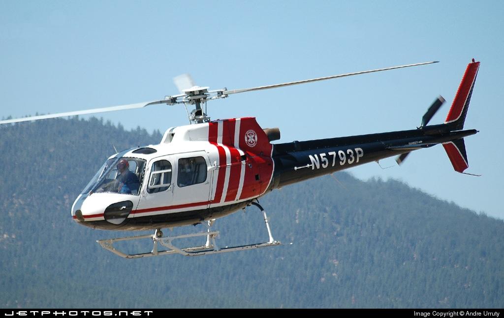 N5793P - Aérospatiale AS 350 Ecureuil - Mountain Lifeflight