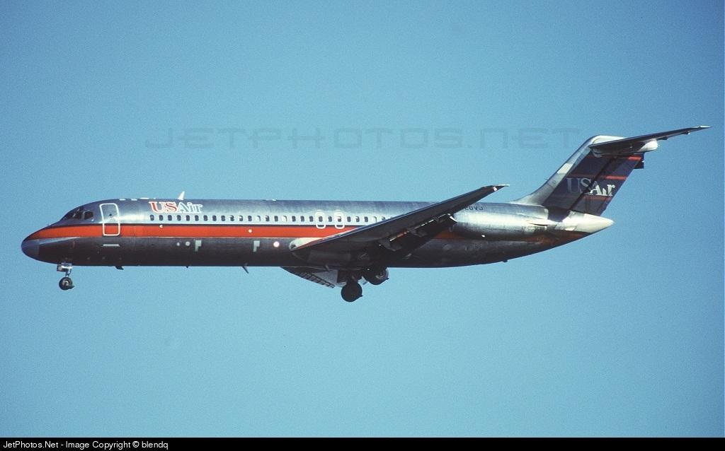 N920VJ - McDonnell Douglas DC-9-31 - USAir